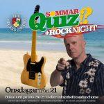 Onsdagar är Sommarquiz + Rocknight på Foxen